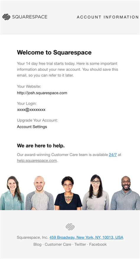 145 Best Images About Welcome Emails On Pinterest Email Newsletters Call To Action And Urban Squarespace Newsletter Template