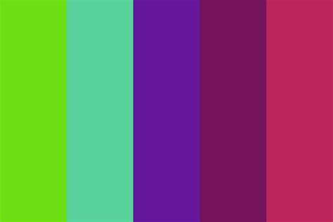 bold color palette
