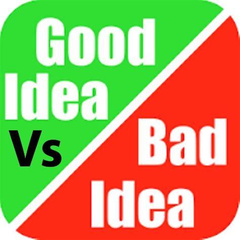 bed vs ideas vs bad badideasvs