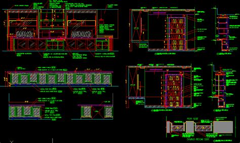 Restaurant Millwork Details 2D DWG Detail for AutoCAD ? Designs CAD