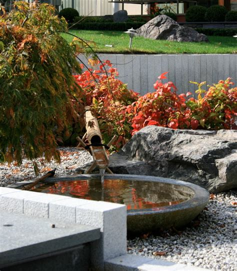 japanese style water water features in japanese style gardens home bunch