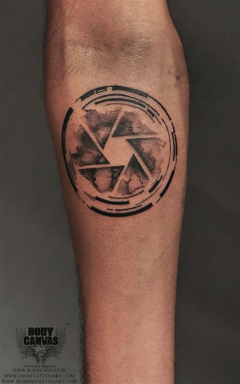 simple body tattoo designs aperture of a tattoos tattoos