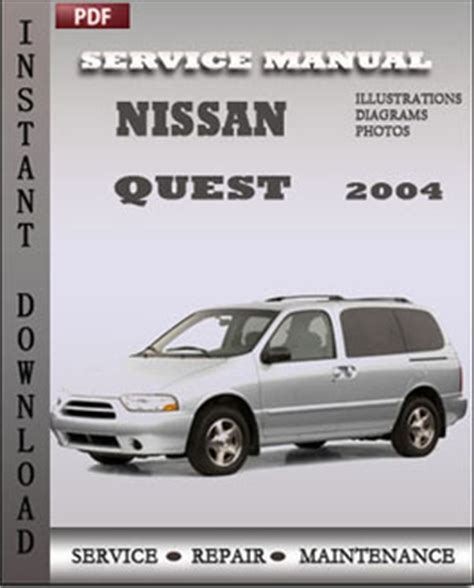 how to download repair manuals 2004 nissan quest electronic toll collection nissan quest 2004 service repair servicerepairmanualdownload com