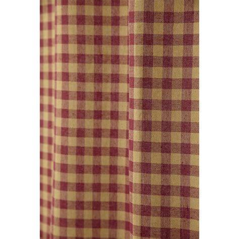 burgundy plaid curtains burgundy applique star curtains