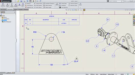 Drafting Drawers by Sneak Peek 15 Features Coming In Solidworks 2015