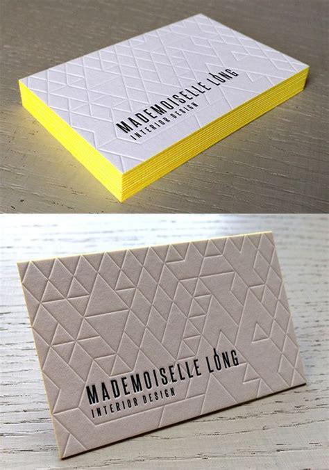business cards letterpress best 25 letterpress business cards ideas on