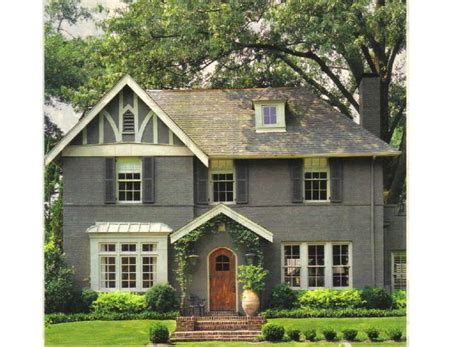 gray white tudor house stuff paint colors exterior colors and the doors