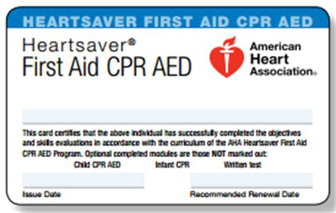 american association healthcare provider card template cpr course info rates cpr kitsap