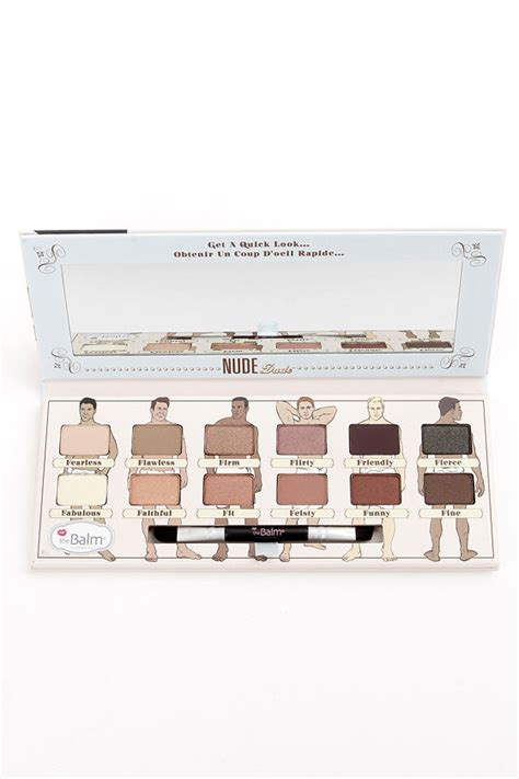 The Balm Apple 3 Dude Eyeshadow the balm dude eye shadow kit eye shadow palette 36 00