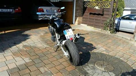 Motorrad Hertrf Ducati by Suzuki Gsx R 1100 Gv73c Streetfighter Umbau Top Gepflegt
