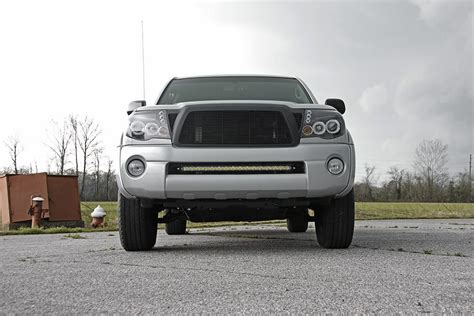2010 tacoma lights 30in led light bar bumper mounting brackets for