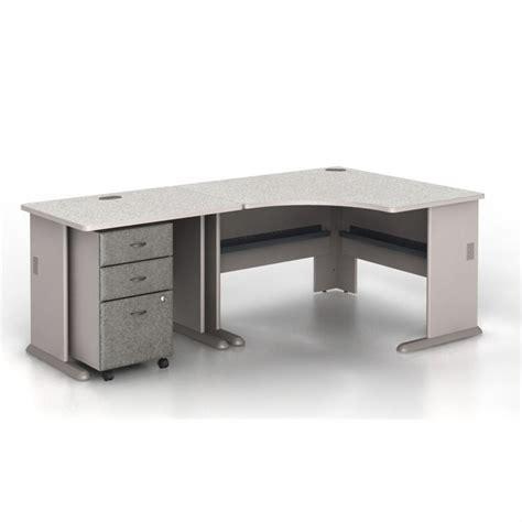 Bush Business Series A 3 Piece Corner Computer Desk In Bush Corner Computer Desk