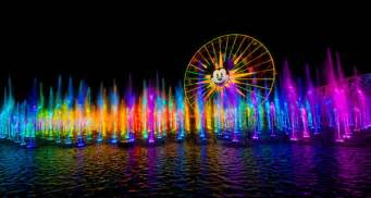 disneyland world of color disneyland provides a world of magic with their world of