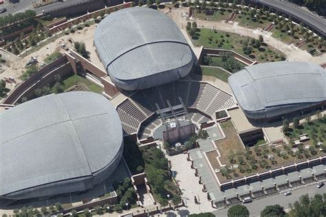 Casa Della Musica Roma by Agb Auditorium Parco Della Musica