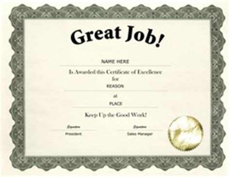 great templates other free certificate templates geographics