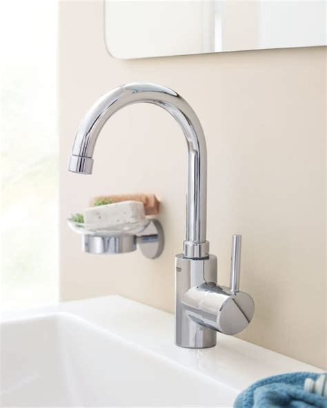new faucets for your bathroom or kitchen c w plumbing faucet com 32138en0 in brushed nckel by grohe