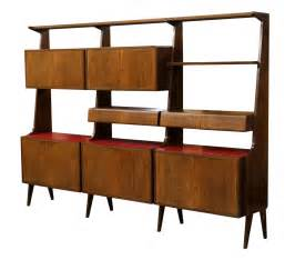 Mid Century Modern Bookshelves Italian Mid Century Modern Rosewood Bookcase Special