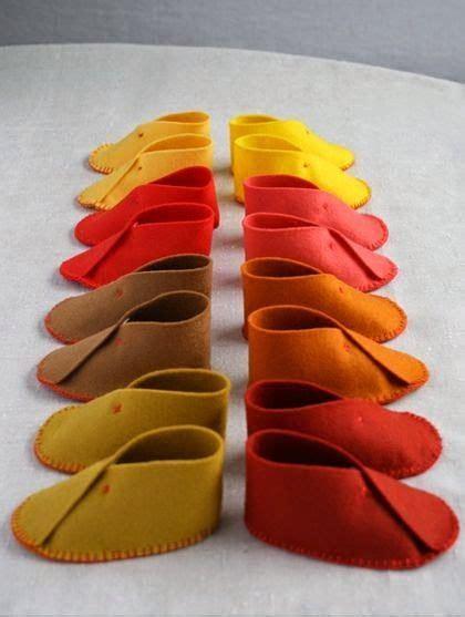membuat kerajinan tangan  kain flanel sepatu