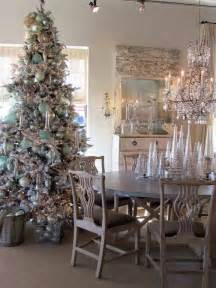 Shabby Chic Sewing Room charming shabby chic christmas decorating ideas