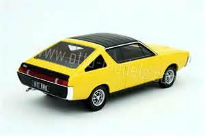 Renault 17 Gordini Renault 17 Gordini Yellow 1977 Ottomobile Diecast Model