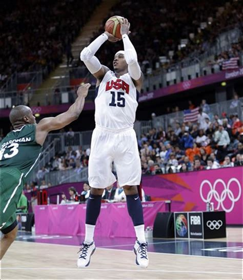 olympics 2012 basketball anthony scores 37 us s basketball team sets olympic
