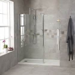 1850 x 1200 walk in glass shower screen
