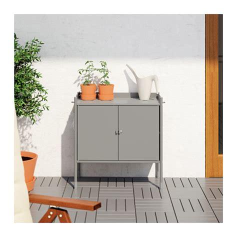 outdoor schrank hind 214 cabinet in outdoor grey 78x82 cm ikea