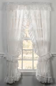 Ruffled Priscilla Curtains Beverly Ruffled Priscilla Panels Ellis Window Treatments