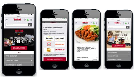 versione mobile le site tefal version mobile est en ligne
