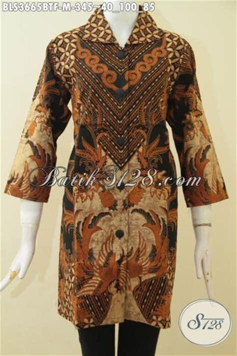 desain baju batik seragam jual pakaian batik blus formal seragam kerja perempuan