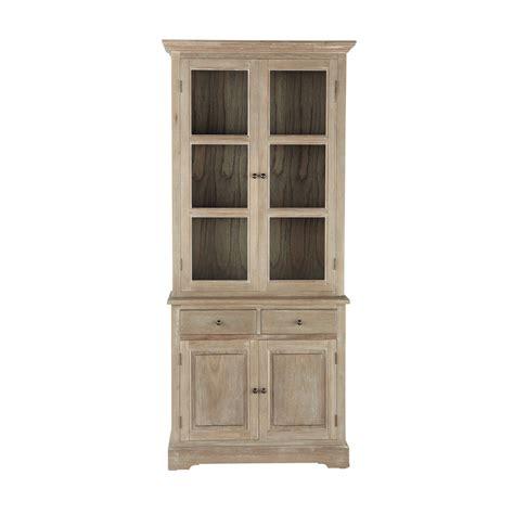 alacena madera alacena de madera de paulonia gris 225 cea an 90 cm cavaillon