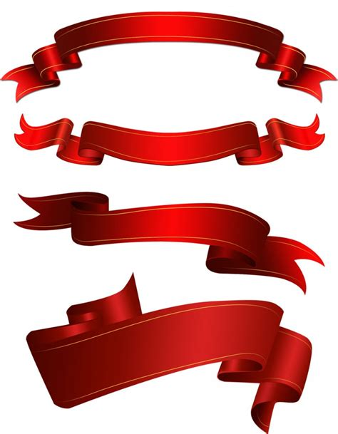 70 best free ribbons psd vector files download