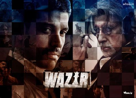 Biography Of Hindi Movie Wazir | upcoming relesed wazir bollywood movies hd poster wallpaper
