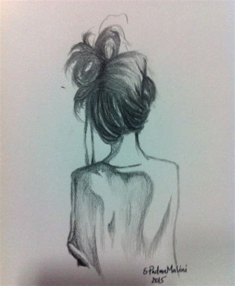 easy pencil drawings alone my is an abstract painting