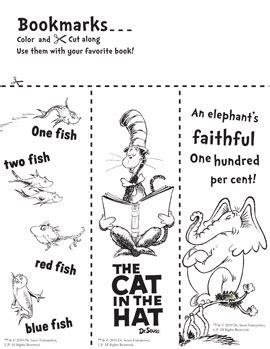 free printable lorax bookmarks 1000 images about dr seuss on pinterest horton hears a