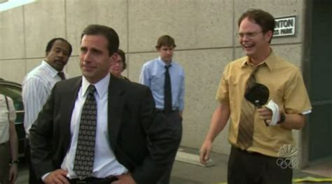 What Does Back Office by In Quot The Quot Episode What Does Dwight Go Back In The