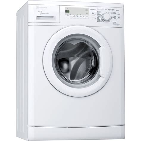 waschmaschine bauknecht waschmaschine der chion edition 6 kg bauknecht