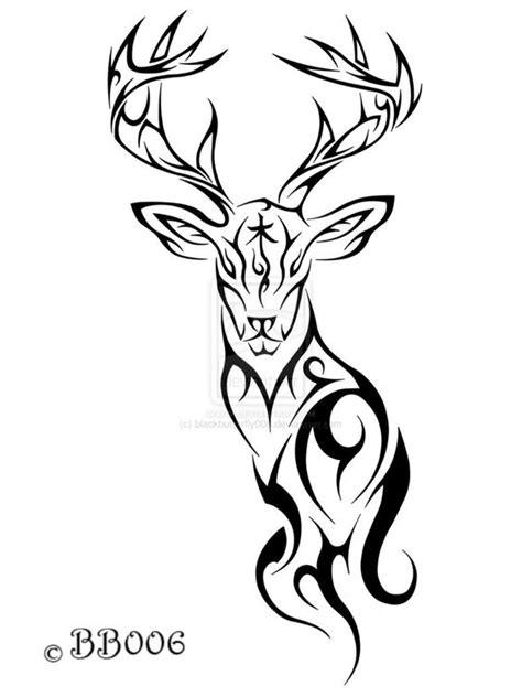 buck tribal tattoos www pixshark tribal deer by blackbutterfly006 on deviantart