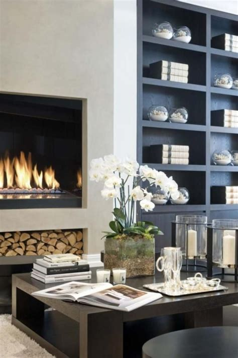 23 modern built in fireplaces to bring a cozy touch digsdigs