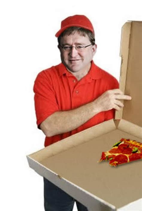 Pizza Delivery Meme - pizza delivery from gabe newell gabe newell know your meme
