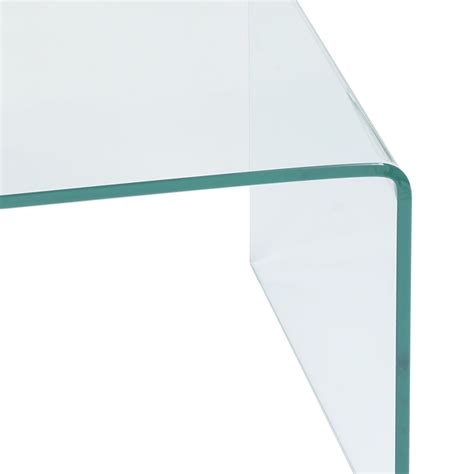 Tempered Glass Coffee Table Tempered Glass Coffee Table 42 0 Quot X 19 7 Quot Coffee Tables Accent Tables Tables Furniture