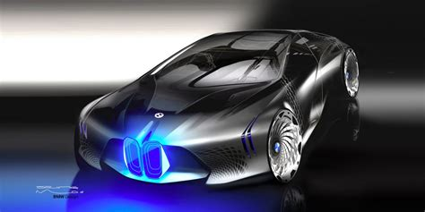 futuristic cars bmw bmw vision next 100 shows future of bmw business insider
