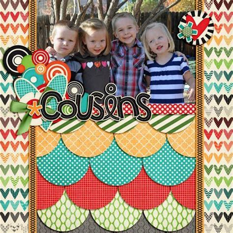 scrapbook layout cousins 1000 images about scrapbook layouts on pinterest