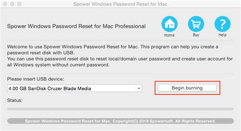 spower windows password reset professional keygen spower windows password reset for mac user guide