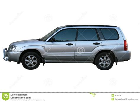 subaru road car siver road car subaru royalty free stock photos