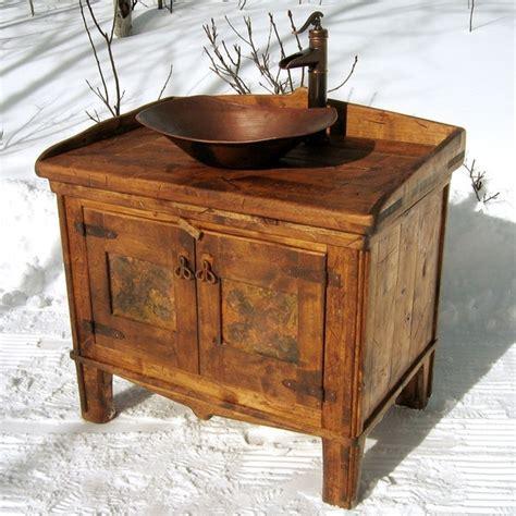 Half Bath Vanity And Sink Rustic Bathroom Vanity For The Mudroom Half Bath I D Like