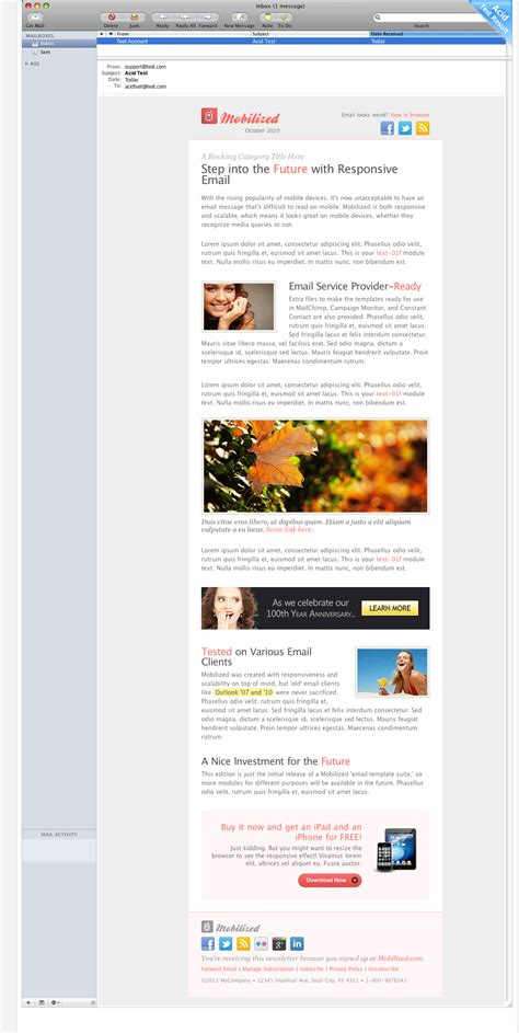 layout apple mail mobilized i responsive modular email templates by