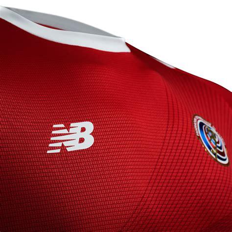 costa rica 2018 world cup new balance home kit 17 18