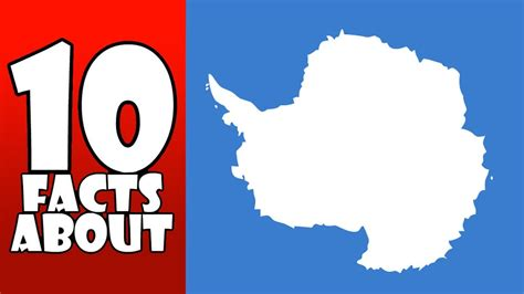 10 facts about antarctica youtube