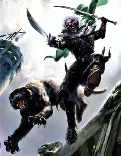 drizzt 011 forgotten realms image forgotten realms drizzt do urden guenhwyvar attacking png death battle fanon wiki